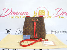Load image into Gallery viewer, Authentic Louis Vuitton Neo neo monogram in coquelicot redIn