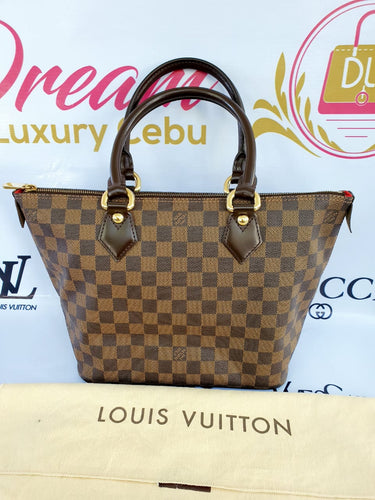 Authentic Louis Vuitton Saleya pm damier ebene canvas philippines