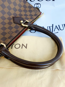 Authentic Louis Vuitton Saleya pm damier ebene canvas monthly payments