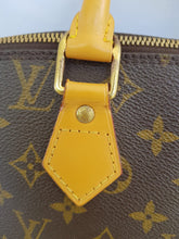 Load image into Gallery viewer, Authentic Louis Vuitton alma pm, monogram canvas vachetta leather