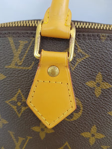 Authentic Louis Vuitton alma pm in monogram canvas
