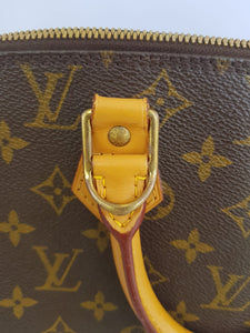 Authentic Louis Vuitton alma pm in pawn