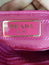 Load image into Gallery viewer, Authentic Prada Tessuto Saffiano Ibisco MANILA