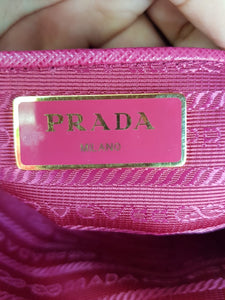 Authentic Prada Tessuto Saffiano Ibisco MANILA