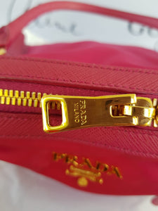Authentic Prada Tessuto Saffiano Ibisco TO BUY