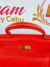 Load image into Gallery viewer, Authentic Vintage Hermes Kelly 35 in swift leather monthly payments
