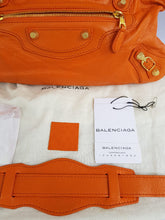 Load image into Gallery viewer, Authentic Balenciaga First in tangerin to buy