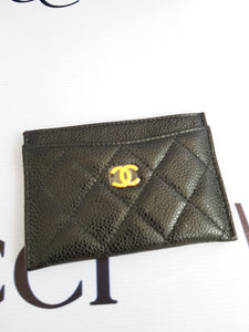 Authentic Chanel card holder pawn