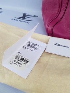 Authentic Salvatore Ferragamo consign