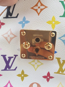 Authentic Louis Vuitton limited edition white