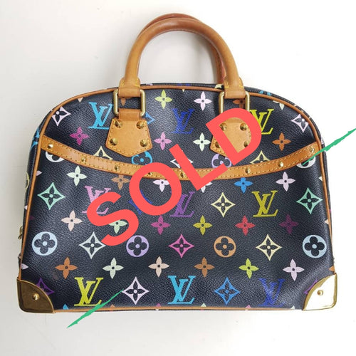 edee67eab7bd Louis Vuitton Trouville Murakami Multicolor Black