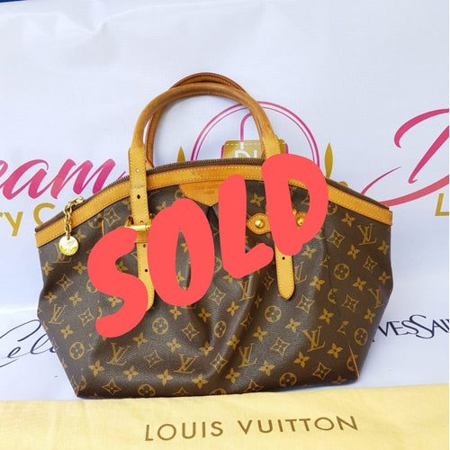 sold Authentic Louis Vuitton Tivoli gm monogram