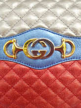 Load image into Gallery viewer, Authentic Gucci marmont camera bag limited ed braided chain consignment