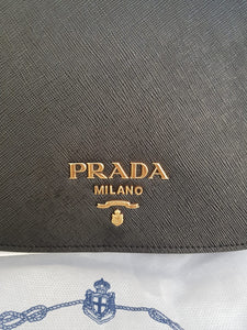 Authentic Prada 1BD192 Saffiano nero, cross body bag near me