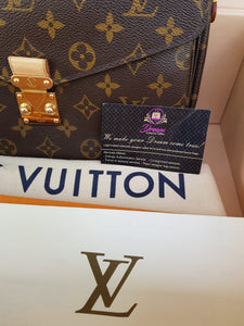 Authentic Louis Vuitton Metis monogram canvas monthly payments