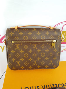 Authentic Louis Vuitton Metis monogram canvas pawn online