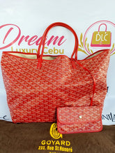Load image into Gallery viewer, Authentic Goyard st. Louis Gm in red buy now pay later