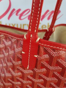 Authentic Goyard st. Louis Gm in red pawn