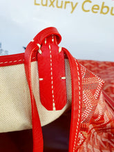 Load image into Gallery viewer, Authentic Goyard st. Louis Gm in red ebay