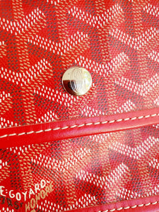 Authentic Goyard st. Louis Gm in red consignment