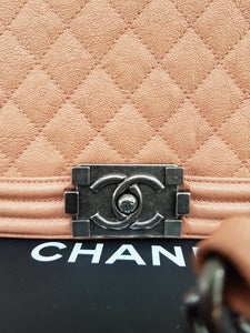 Authentic Chanel Le boy bag