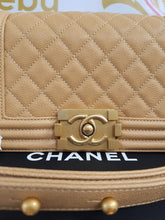 Load image into Gallery viewer, Unused Chanel le boy in small size caviar leather philippines