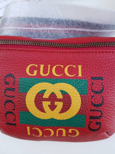 Authentic Gucci Belt Bag  Red