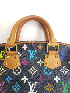 Louis Vuitton Trouville Murakami Multicolor Black