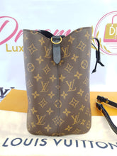 Load image into Gallery viewer, Authentic Louis Vuitton Neo Neo tote bucket black in noir