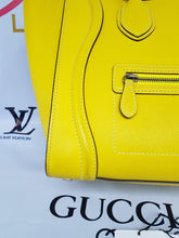 Load image into Gallery viewer, Authentic Celine mini luggage Citron layaway