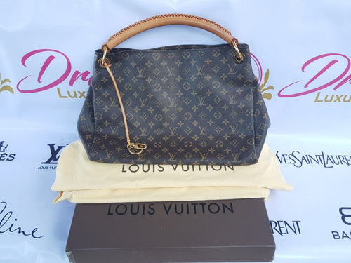 Authentic Louis Vuitton Artsy Gm in Monogram