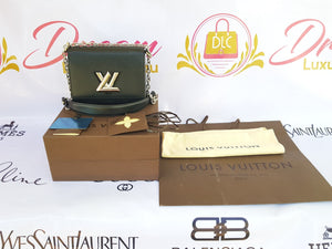 Authentic Louis Vuitton EPI Twist PM Noir