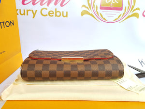 Authentic Louis Vuitton favorite mm damier ebene canvas price