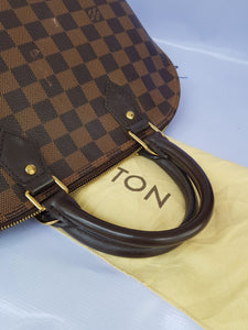 where to sell Authentic Louis Vuitton Alma pm Damier Ebene