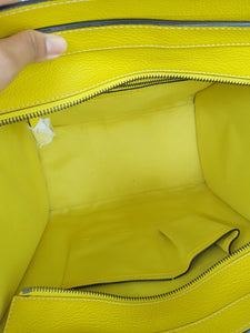 Authentic Celine mini luggage Citron buy and sell