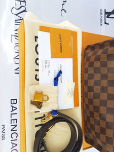 Brand new Authentic Louis Vuitton speedy 30 bandouliere damier ebene canvas price