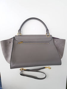 Céline Trapeze Medium In Croc