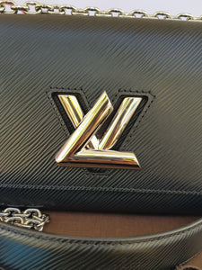 where to buy Authentic Louis Vuitton EPI Twist PM Noir