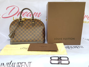 Authentic Louis Vuitton Alma pm Damier Ebene philippines