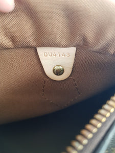 Authentic Chanel bandouliere 25 monogram canvas consignment