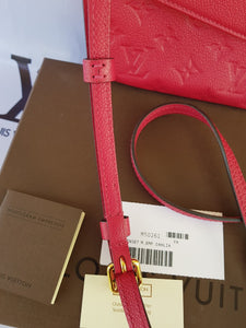 Authentic Louis Vuitton Twinset Empreinte consignment