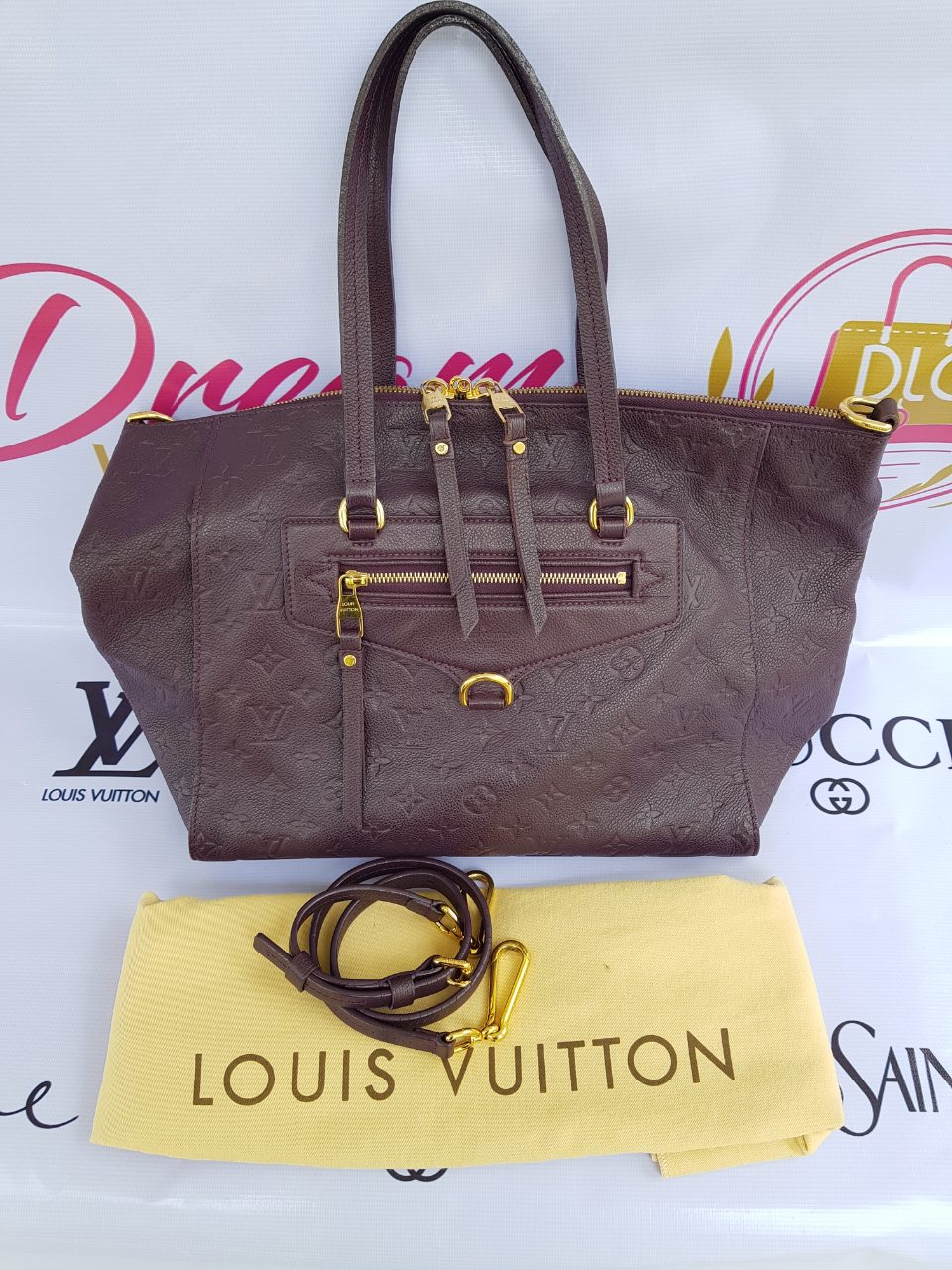 Authentic Louis Vuitton Lumineuse pm