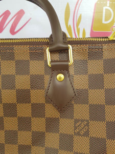 Brand new Authentic Louis Vuitton speedy 30 bandouliere damier ebene canvas consignment