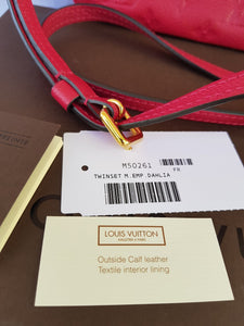 Authentic Louis Vuitton Twinset Empreinte terms layaway
