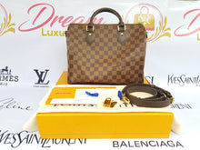 Load image into Gallery viewer, Brand new Authentic Louis Vuitton speedy 30 bandouliere damier ebene canvas philippines