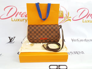 Authentic Louis Vuitton favorite mm damier ebene canvas philippines
