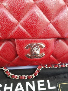 Authentic Chanel Jumbo Clutch Burgundy Red legit seller