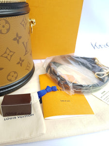 Authentic Louis Vuitton Cannes Reverse Monogram limited edition consignment