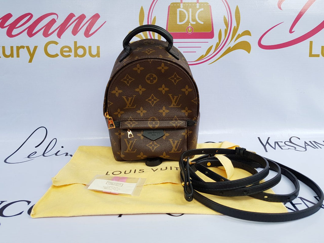 Authentic Louis Vuitton Palmspring Mini backpack Philippines