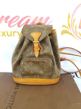 Load image into Gallery viewer, Authentic Louis Vuitton Montsouris Backpack Monogram consignment